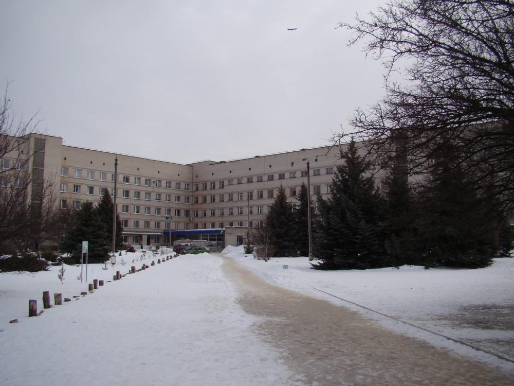 Схема расположения корпусов калужской областной больницы