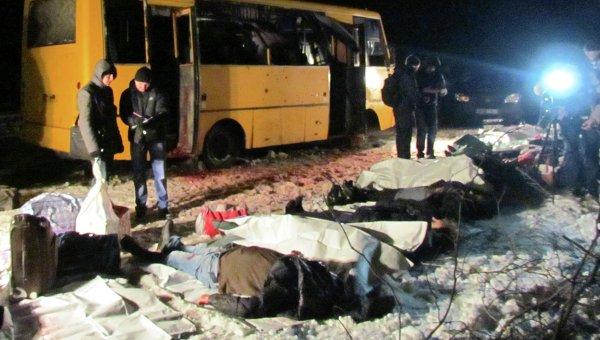 ВСБУ назвали организаторов обстрела автобуса под Волновахой